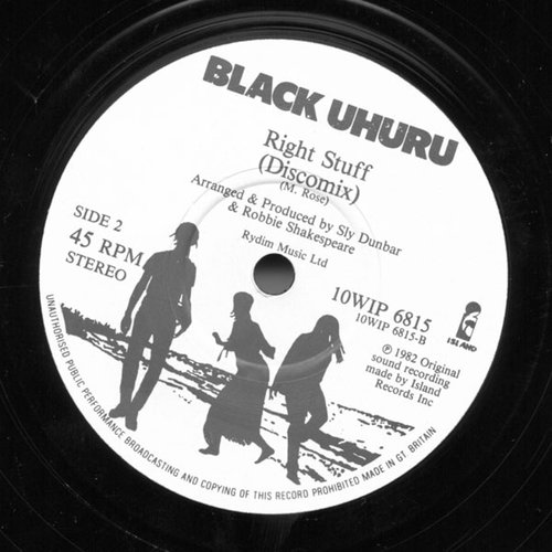 Black Uhuru - Mondays / Killer Tuesdays / Right Stuff EP