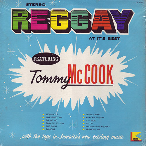 Tommy McCook - Reggay At It's Best
